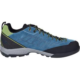 Scarpa Epic Shoes Men lakeblue/lime
